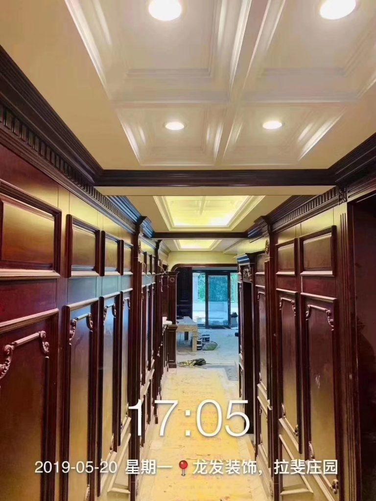保利拉斐庄园案例  面积:1000平米 风格:美式-家装保姆-罗小红成都家装设计团队