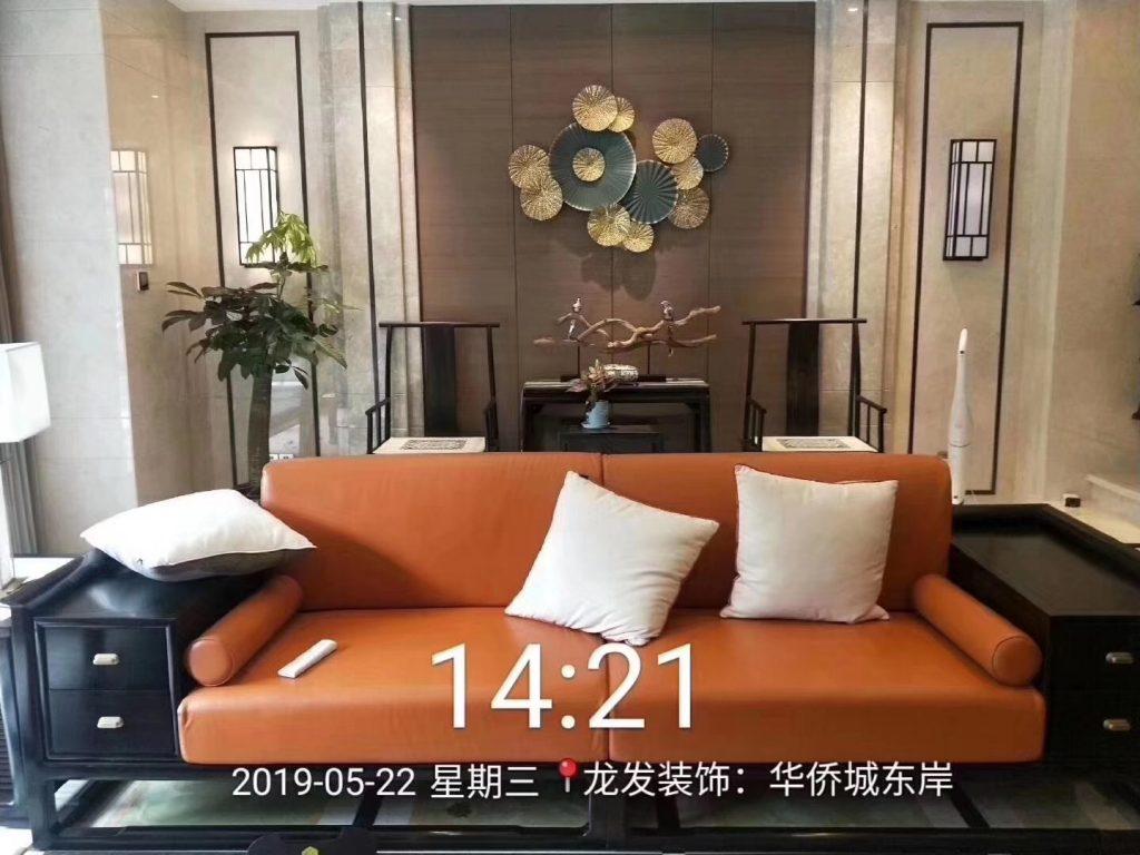 华侨城东岸 施工面积:600平米 施工风格:新中式-家装保姆-罗小红成都家装设计团队