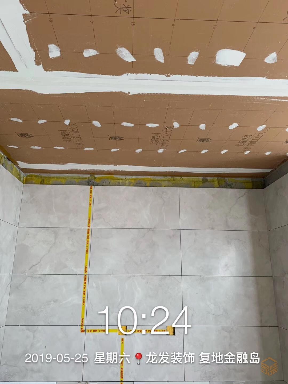 工地巡查–复地金融岛 建筑面积:178平米 设计风格:现代-家装保姆-罗小红成都家装设计团队