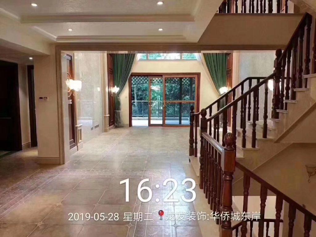 华侨城东岸 面积:350平米 风格:美式-家装保姆-罗小红成都家装设计团队