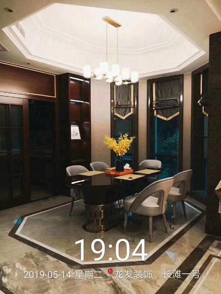 融创长滩一号 建筑面积:280㎡ 设计风格 : 现代中式-家装保姆-罗小红成都家装设计团队