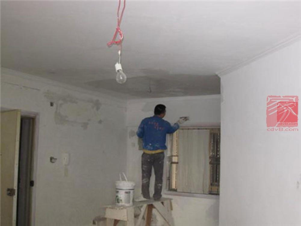 墙面刮腻子一般要好多钱?墙面腻子的选购与施工-家装保姆-罗小红成都家装设计团队