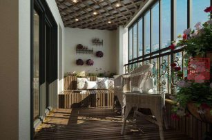 在成都装修房子封阳台价格好多钱一平方米?