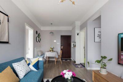 现代二居室117平米装修案例