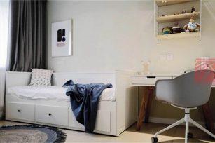 现代二居室89平方米家装案例-成都装修网