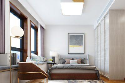 北欧二居室102平方米家装案例-成都装修网