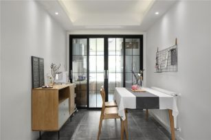 现代三居室127平方米家装案例-成都装修网