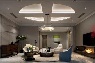 现代装修风格四卧室96.4平方米家装案例