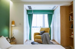 现代三居室119平方米家装案例-成都装修网