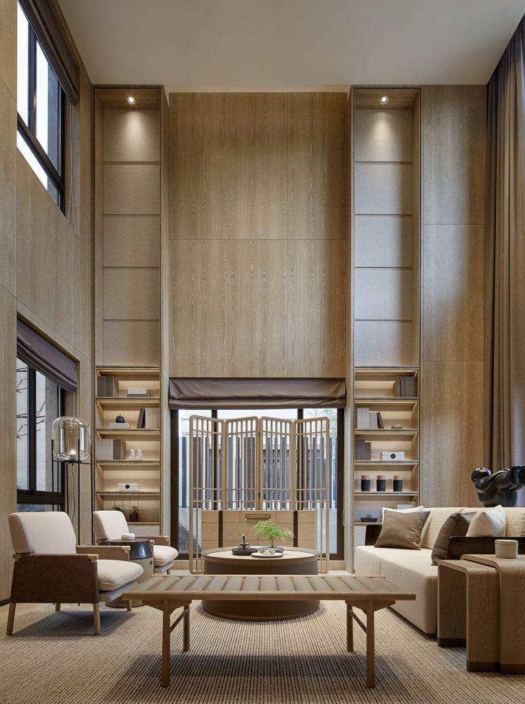 2020年最新家装作品禅意新中式装修效果图欣赏(三)-家装保姆-罗小红成都家装设计团队