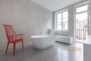 高端新古典法式现代别墅复式平层实景图资料效果图欣赏1