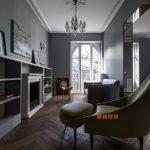 高端新古典法式现代别墅复式平层实景图资料效果图欣赏1-家装保姆-罗小红成都家装设计团队