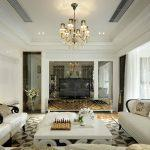 2020年欧式简欧新古典别墅复式平层效果图欣赏1-家装保姆-罗小红成都家装设计团队