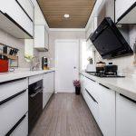 2020年后现代黑白灰极简实景图效果图6-家装保姆-罗小红成都家装设计团队