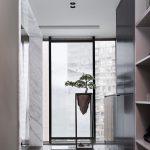 2020年后现代黑白灰极简实景图效果图9-家装保姆-罗小红成都家装设计团队