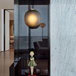 2020年后现代黑白灰极简实景图效果图17-家装保姆-罗小红成都家装设计团队