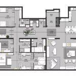 2020年后现代黑白灰极简实景图效果图21-家装保姆-罗小红成都家装设计团队