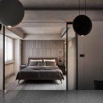 2020年后现代黑白灰极简实景图效果图22-家装保姆-罗小红成都家装设计团队