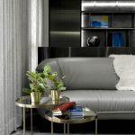 2020年后现代黑白灰极简实景图效果图24-家装保姆-罗小红成都家装设计团队