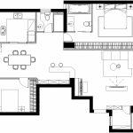 2020年后现代黑白灰极简实景图效果图29-家装保姆-罗小红成都家装设计团队