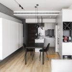 2020年后现代黑白灰极简实景图效果图38-家装保姆-罗小红成都家装设计团队