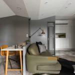2020年后现代黑白灰极简实景图效果图39-家装保姆-罗小红成都家装设计团队