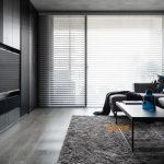 2020年后现代黑白灰极简实景图效果图43-家装保姆-罗小红成都家装设计团队