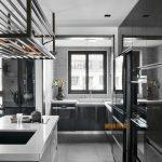 2020年后现代黑白灰极简实景图效果图47-家装保姆-罗小红成都家装设计团队