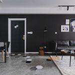 2020年后现代黑白灰极简实景图效果图51-家装保姆-罗小红成都家装设计团队
