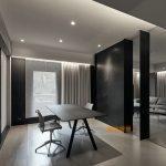 2020年后现代黑白灰极简实景图效果图54-家装保姆-罗小红成都家装设计团队