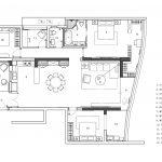 2020年后现代黑白灰极简实景图效果图18-家装保姆-罗小红成都家装设计团队