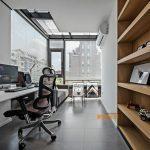 2020年后现代黑白灰极简实景图效果图59-家装保姆-罗小红成都家装设计团队