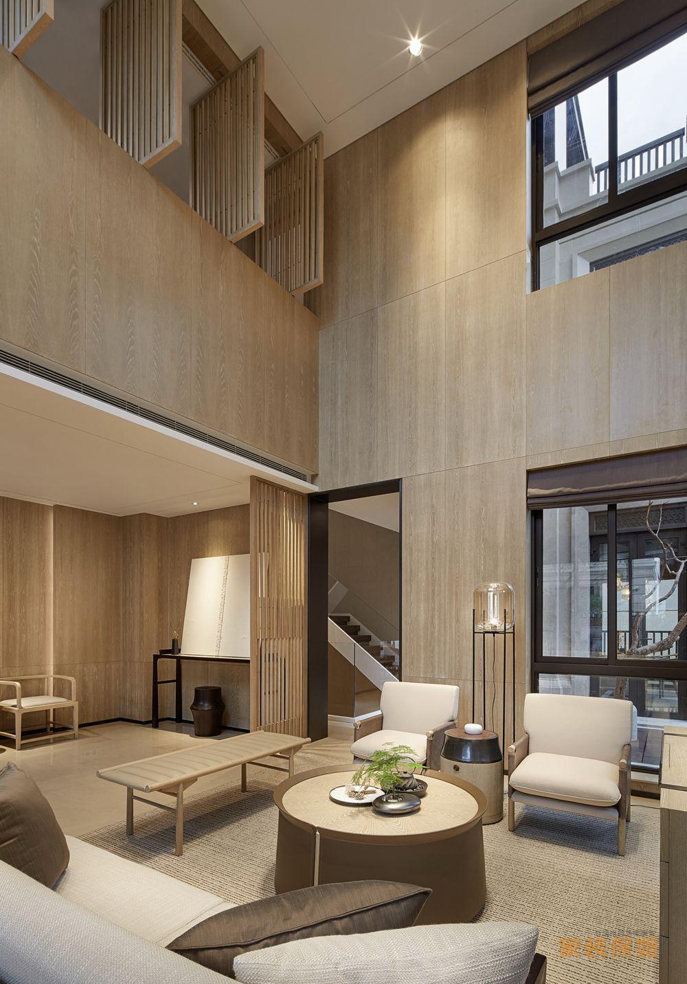 2020年最新家装作品禅意新中式装修效果图欣赏(四)-家装保姆-罗小红成都家装设计团队